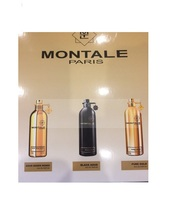 Подарочный набор Montale 3*15ml Aoud Queen Roses, Black Aoud, Pure Gold